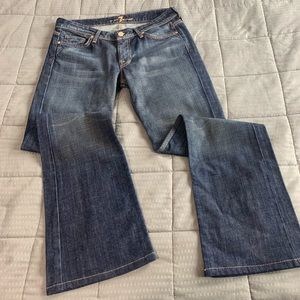 7 For All Mankind Bootcut Jeans Sz 28